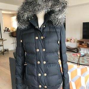 ❤️Juicy Couture women's black puffer jacket